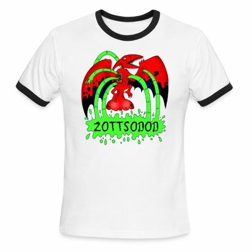 ZOTTSODOD - Men's Ringer T-Shirt