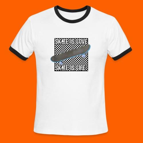 SK8 is Love - Men's Ringer T-Shirt