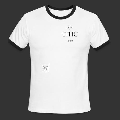 ethc men's authentic ringer short sleeve - Men's Ringer T-Shirt