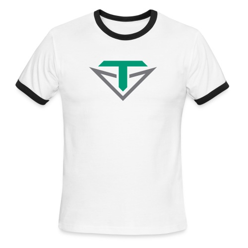 Toulon Golf Logo Shirt - Men's Ringer T-Shirt