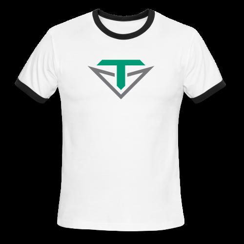Toulon Golf Logo Shirt - Men's Ringer T-Shirt