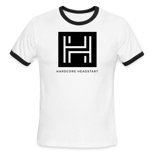Hardcore Headstart m - Men's Ringer T-Shirt