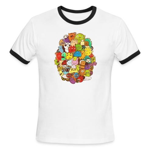 Doodle for a poodle - Men's Ringer T-Shirt