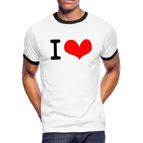 I Love what - Men's Ringer T-Shirt