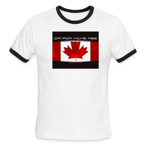 ckaspread02 - Men's Ringer T-Shirt