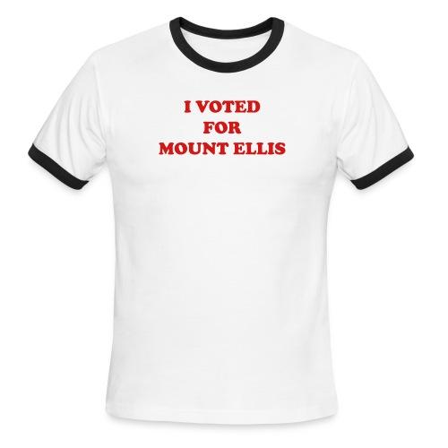 mount ellis - Men's Ringer T-Shirt