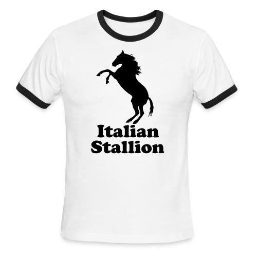 Italian Stallion - Men's Ringer T-Shirt