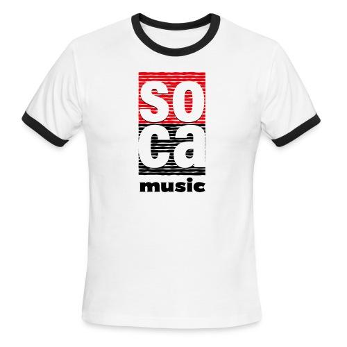 Soca music - Men's Ringer T-Shirt