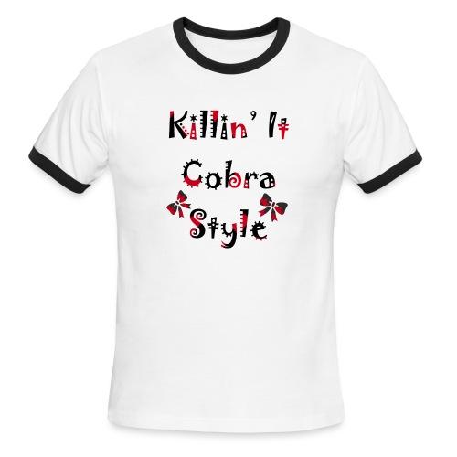 Killin' It Cobra - Men's Ringer T-Shirt