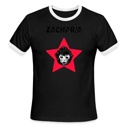 transparaent background Zacharia - Men's Ringer T-Shirt