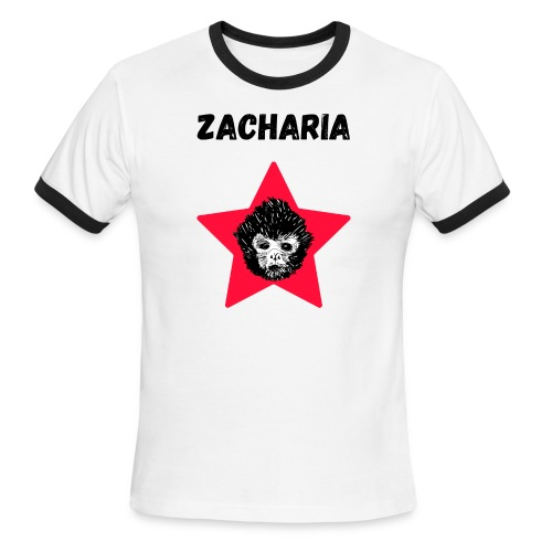transparaent background Zacharia - Men's Ringer T-Shirt