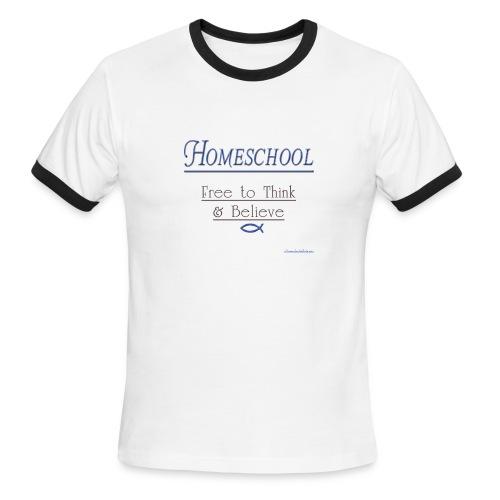 Homeschool Freedom - Men's Ringer T-Shirt