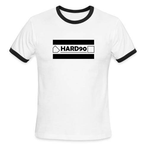 Hard 90 Logo - Men's Ringer T-Shirt