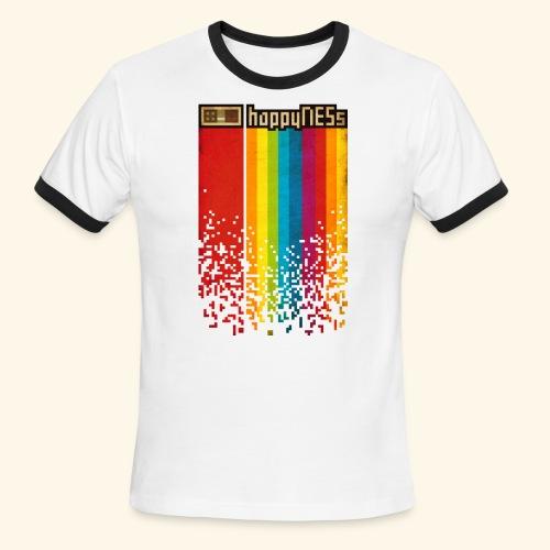 happyNESs - Men's Ringer T-Shirt