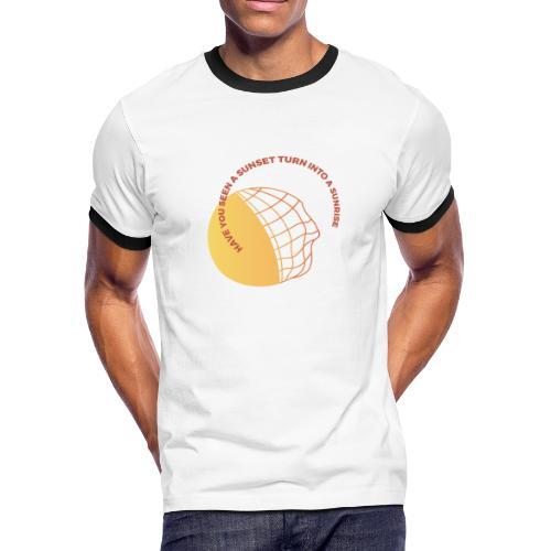 Sunset & Sunrise - Men's Ringer T-Shirt