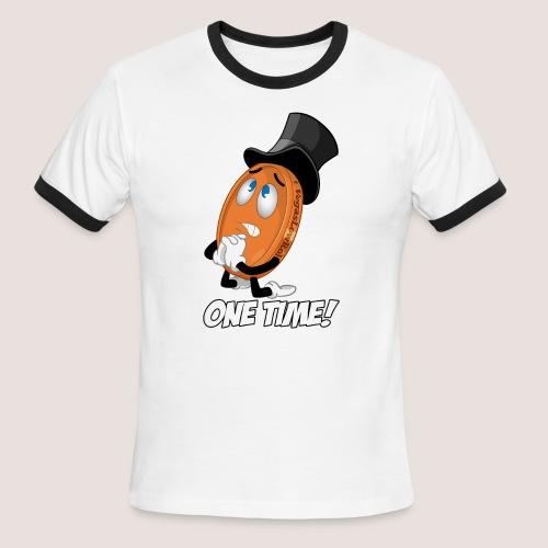 THE ONE TIME PENNY - Men's Ringer T-Shirt