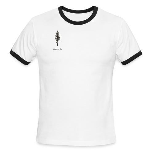 Adelaide logo - Men's Ringer T-Shirt