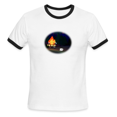 'Round the Campfire - Men's Ringer T-Shirt