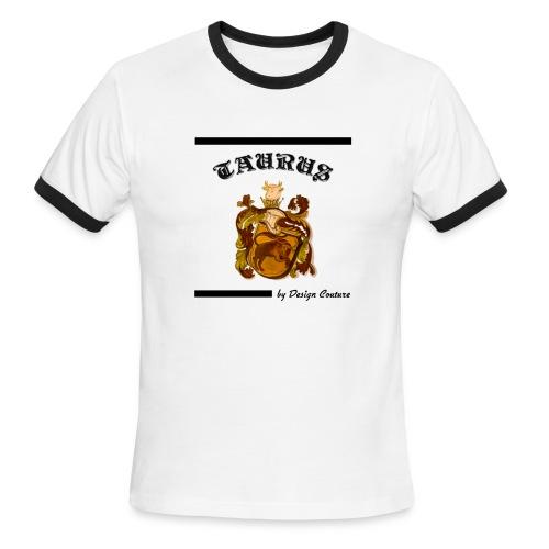 TAURUS BLACK - Men's Ringer T-Shirt