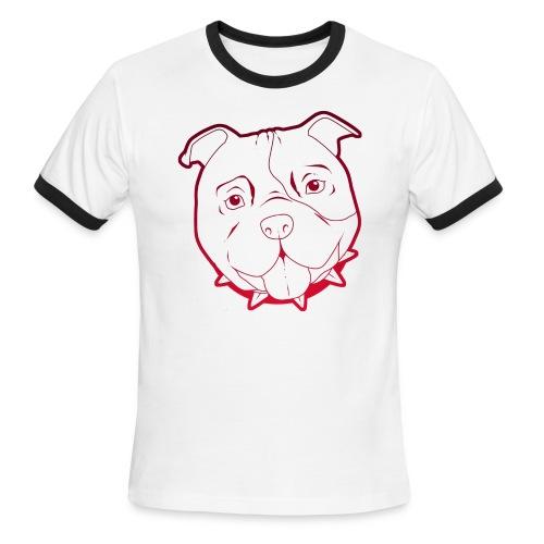 Pit Tee Outline - Men's Ringer T-Shirt