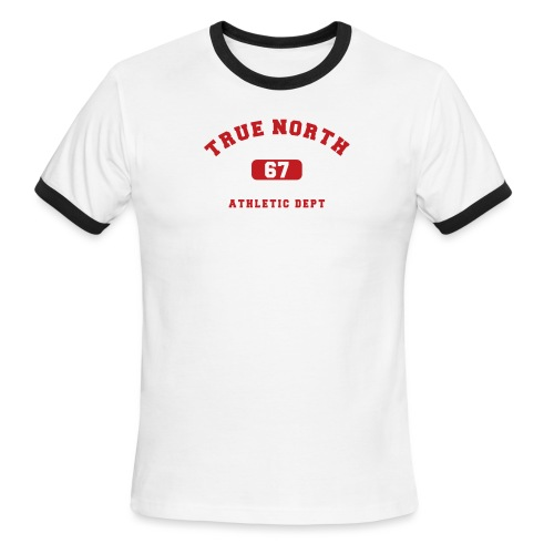 True North Athletic Dept - Men's Ringer T-Shirt