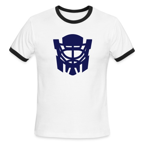 optimus reim crest - Men's Ringer T-Shirt