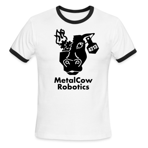 MetalCow Solid - Men's Ringer T-Shirt