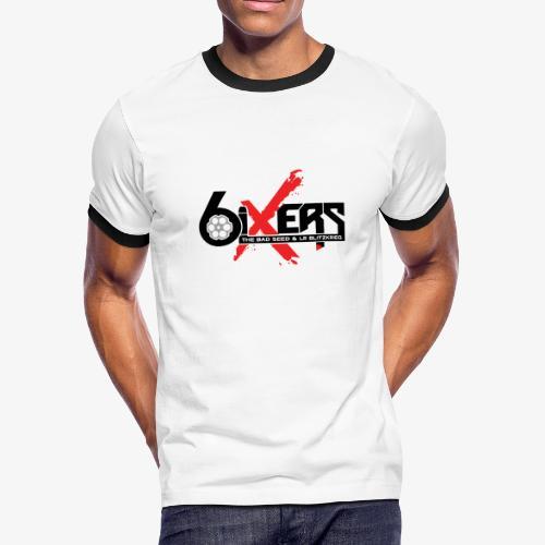 6ixersLogo - Men's Ringer T-Shirt