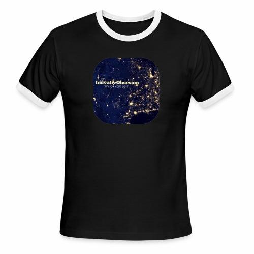 """InovativObsesion """"TURN ON YOU LIGHT"""" Apparel - Men's Ringer T-Shirt"""