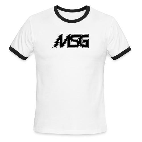 MSG Logo - Men's Ringer T-Shirt