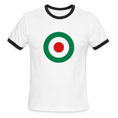 Italy Symbol - Axis & Allies - Men's Ringer T-Shirt