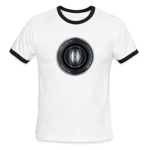 Zeiss Lens - Men's Ringer T-Shirt