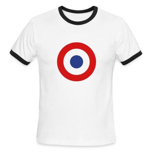 France Symbol - Axis & Allies - Men's Ringer T-Shirt