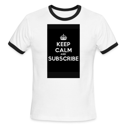 Keep calm merch - Men's Ringer T-Shirt