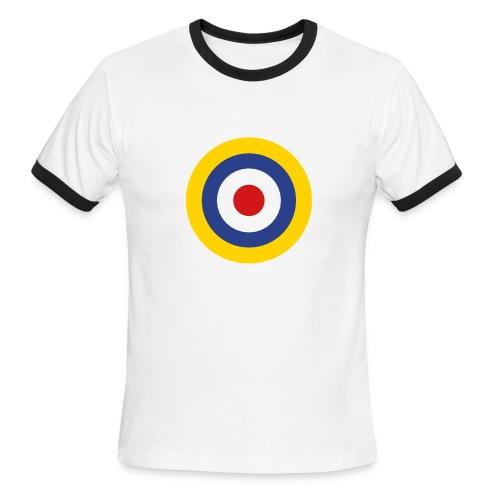 UK Symbol - Axis & Allies - Men's Ringer T-Shirt