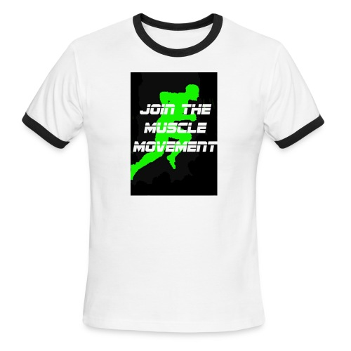 muscle movement - Men's Ringer T-Shirt