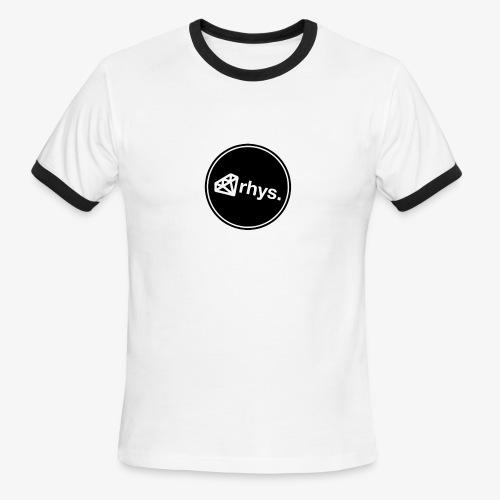 rhys_logo.png - Men's Ringer T-Shirt
