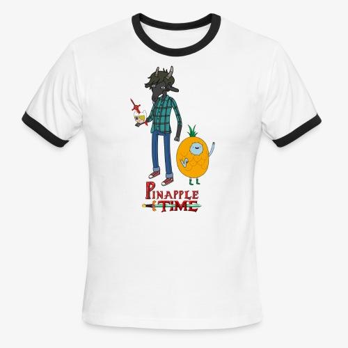 Pinapple Time Inside Joke T-Shirt - Men's Ringer T-Shirt