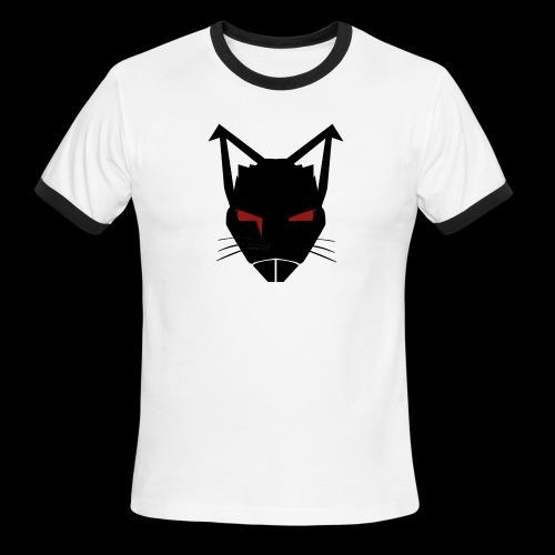 RatCrusher (BLACK) - Men's Ringer T-Shirt