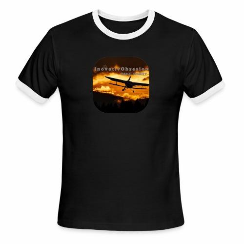 """InovativObsesion """"TAKE FLIGHT"""" apparel - Men's Ringer T-Shirt"""