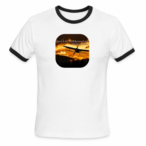 "InovativObsesion ""TAKE FLIGHT"" apparel - Men's Ringer T-Shirt"