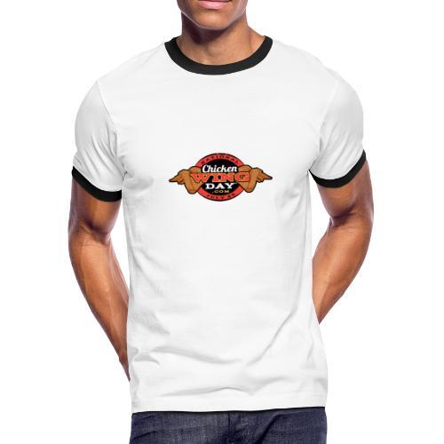 Chicken Wing Day - Men's Ringer T-Shirt