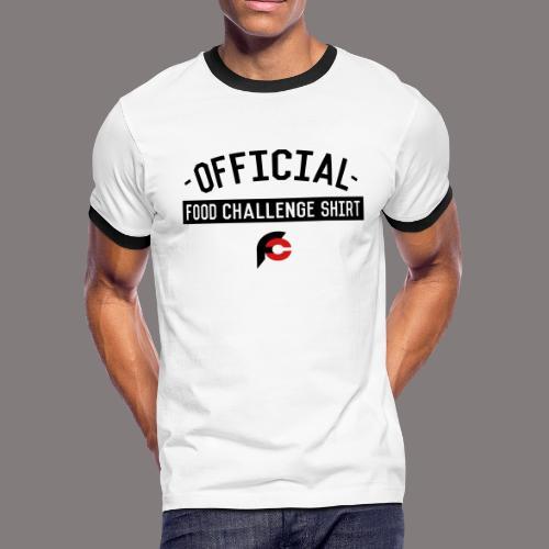 Official Food Challenge Shirt 2 - Men's Ringer T-Shirt