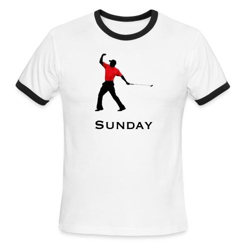 Sunday Red - Men's Ringer T-Shirt