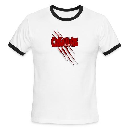 Creature Features Slash T - Men's Ringer T-Shirt