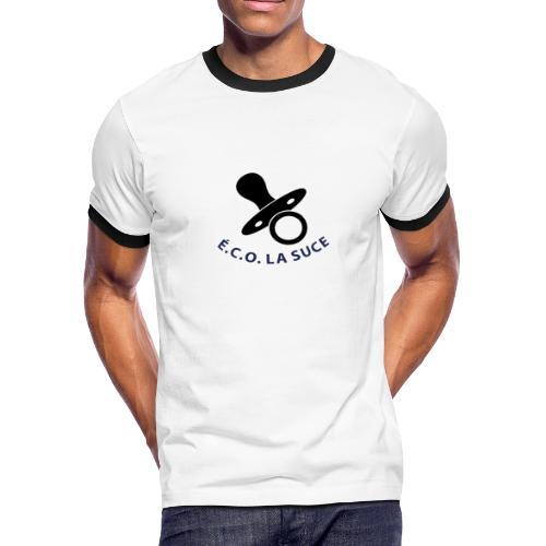 Logo É.C.O. LA SUCE - Men's Ringer T-Shirt