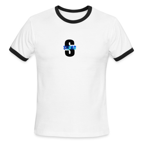 CAMO STROMEDY SQUAD LOGO - Men's Ringer T-Shirt
