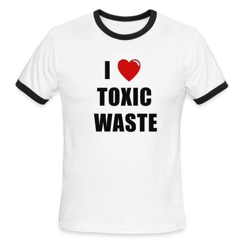 lovetoxicwaste trns - Men's Ringer T-Shirt