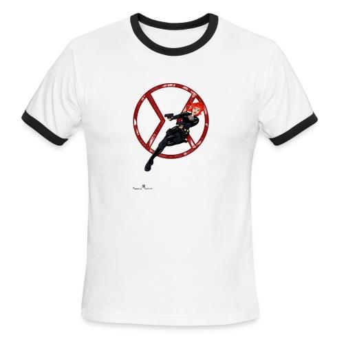 BULLETS AND BALLERINAS - Men's Ringer T-Shirt