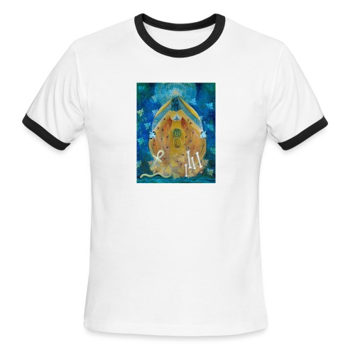 Cosmic Shakti Design by Arathi Ma - Men's Ringer T-Shirt